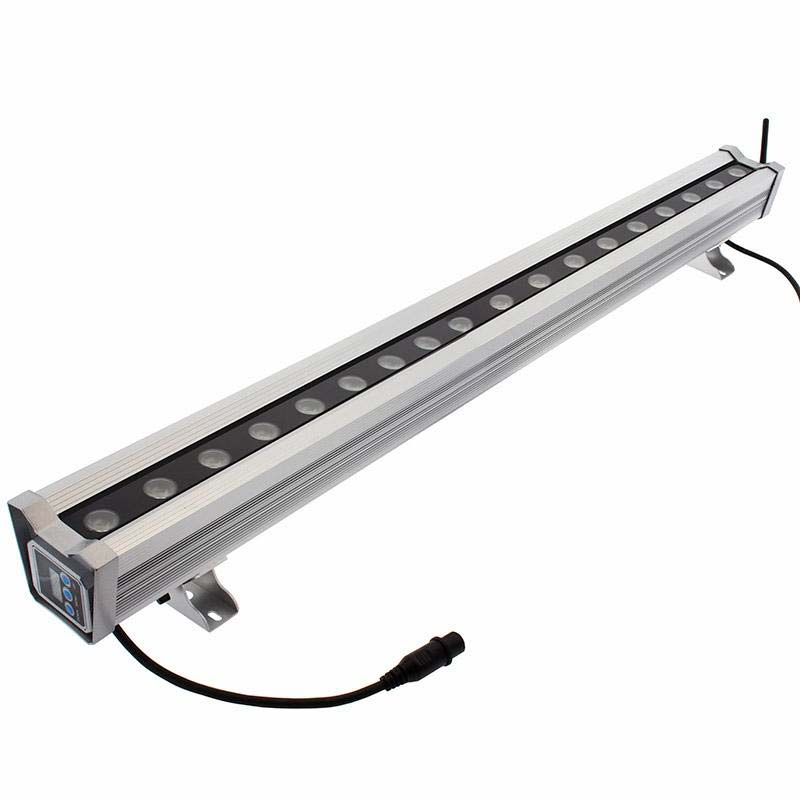 Proyector LED lineal, RGB+W+A, DMX512, 200W, 220V, 1 m