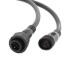 Cable extensión 4 Pinx0,5mm, 200cm, IP67, negro