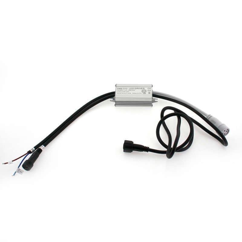 Proyector LED lineal, RGB-DMX512, 24W, DC24V, 1m