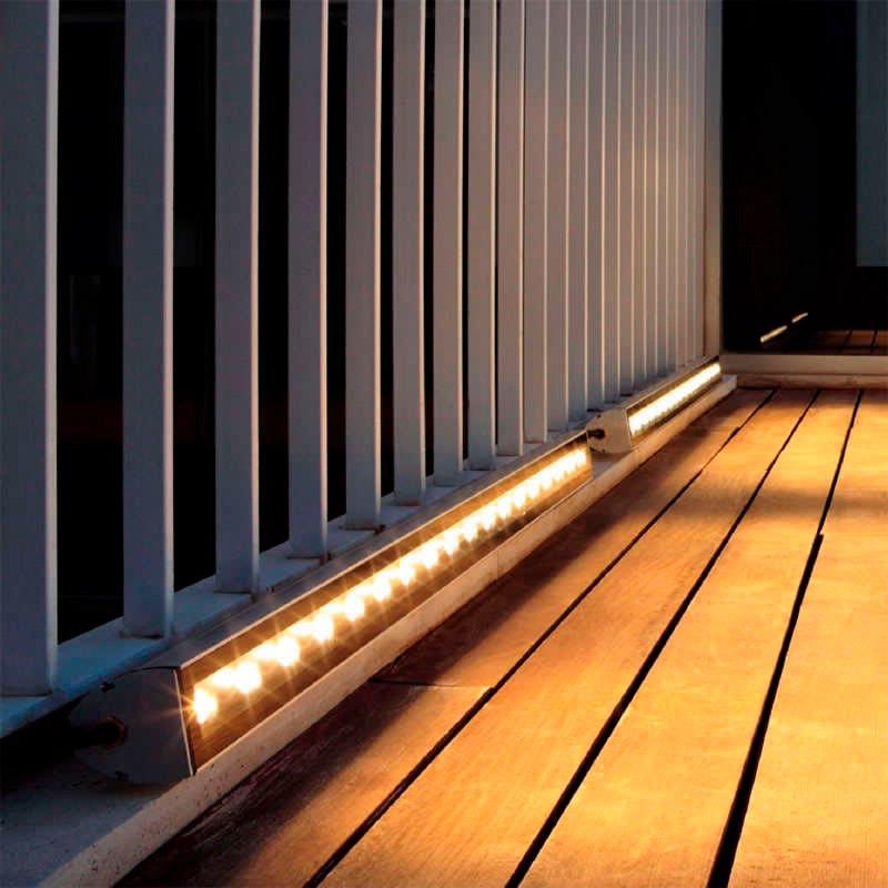 Proyector LED lineal, 12W, 220V, 50cm