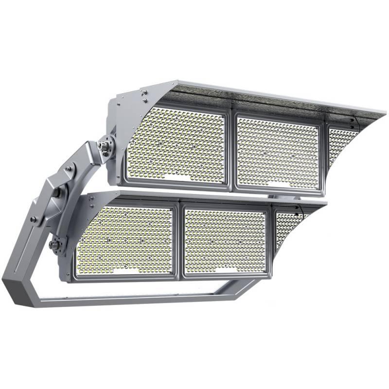 Foco projetor LED STD Samsung/MeanWell 2000W, 1-10V