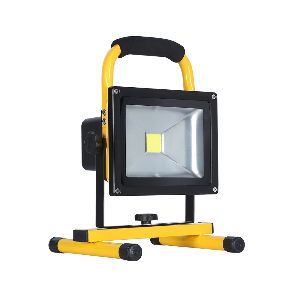 Projetor LED, 20W com bateria recarregável
