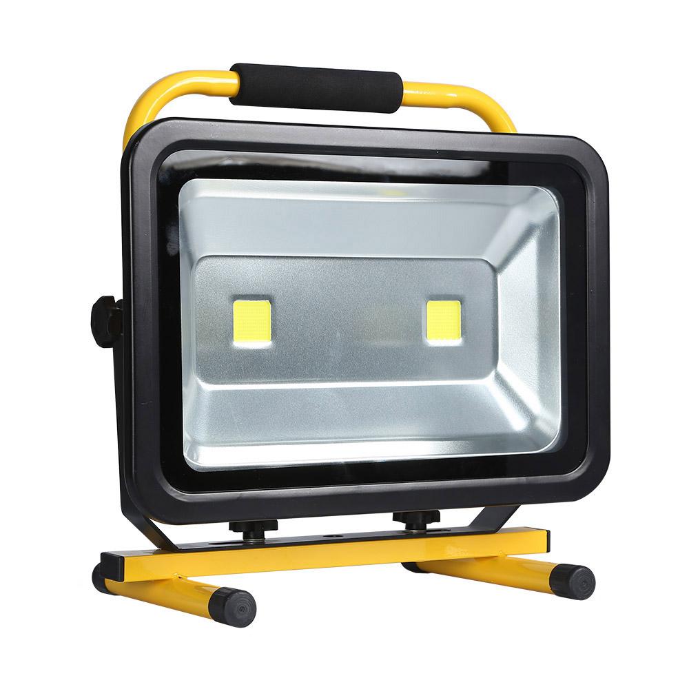 Projetor LED, 100W com bateria recarregável