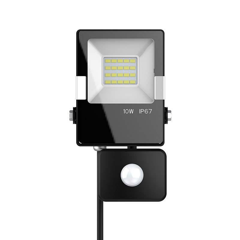 Proyector Led PRO SMD2835, 10W con sensor de movimiento PIR