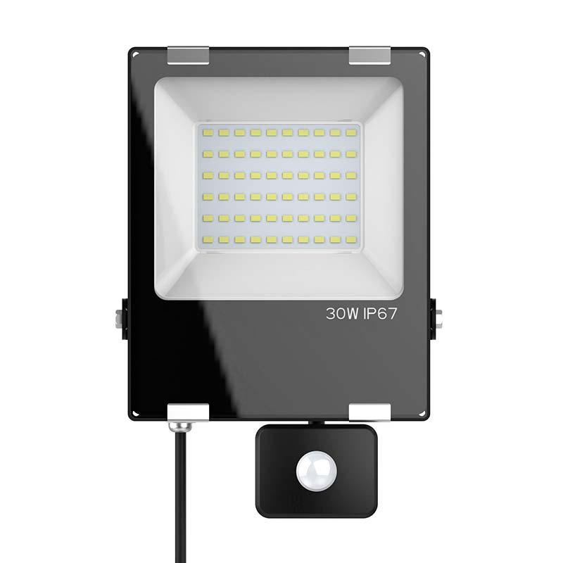 Proyector Led PRO SMD2835, 30W con sensor de movimiento PIR