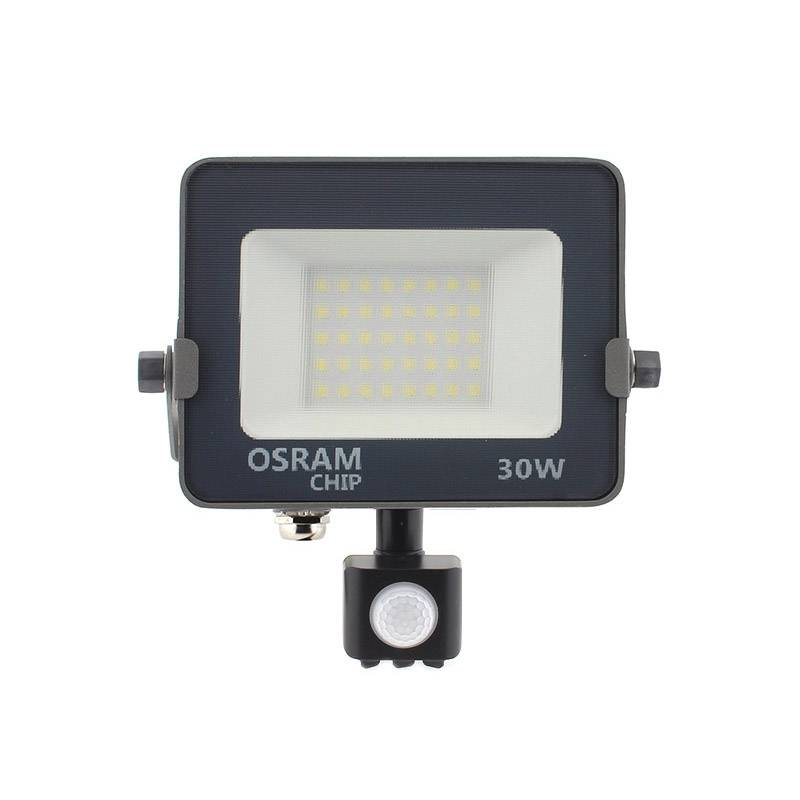 Proyector LED Chipled OSRAM PRO, 30W con Sensor Movimiento PIR