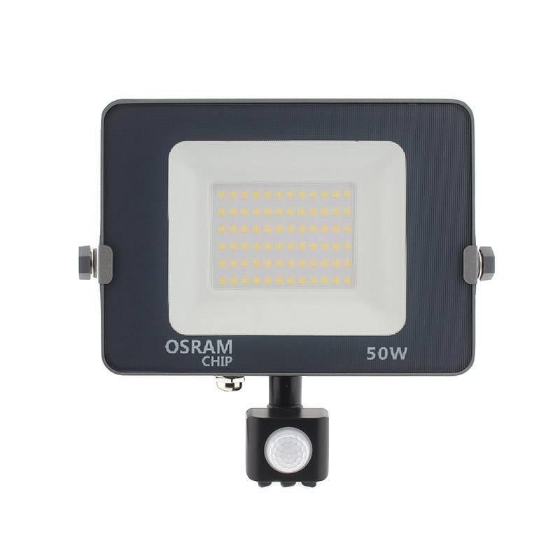 Proyector LED Chipled OSRAM PRO, 50W con Sensor Movimiento PIR