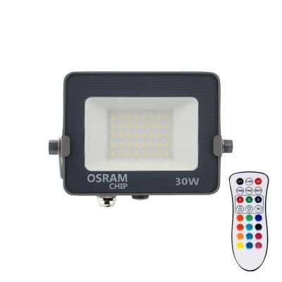Proyector LED chipled OSRAM PRO RGB+W, 30W, RGB + Blanco neutro