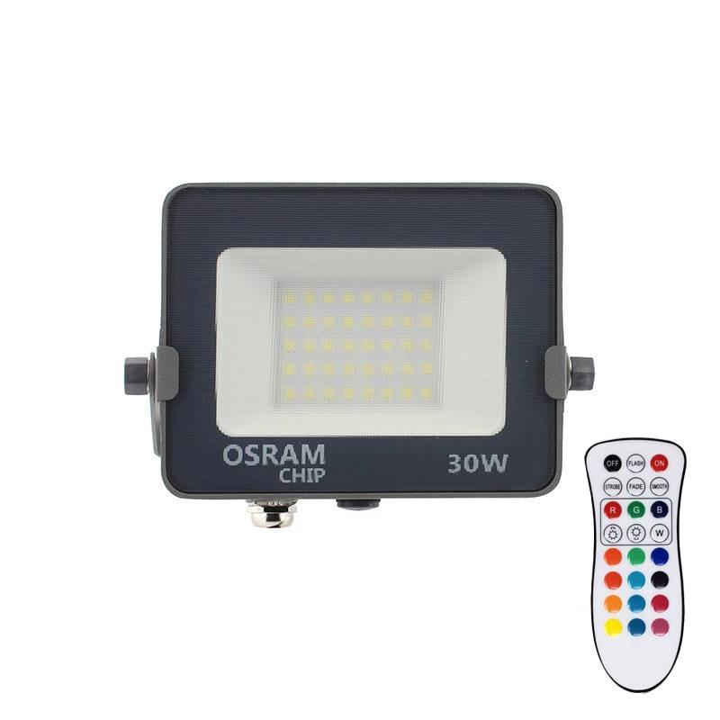 Projetor LED chipled OSRAM PRO RGB+W, 30W
