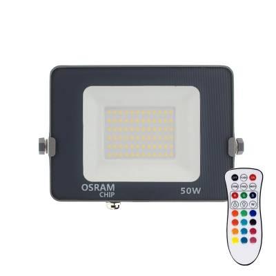 Proyector LED chipled OSRAM PRO RGB+W, 50W, RGB + Blanco neutro