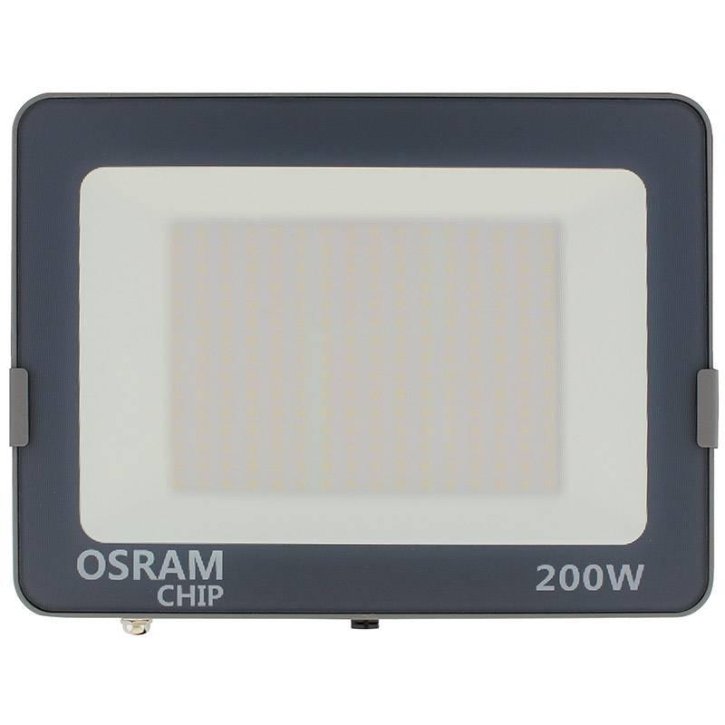 Projetor LED chipled OSRAM PRO, 200W ajustável 3000K-4000K-6000K