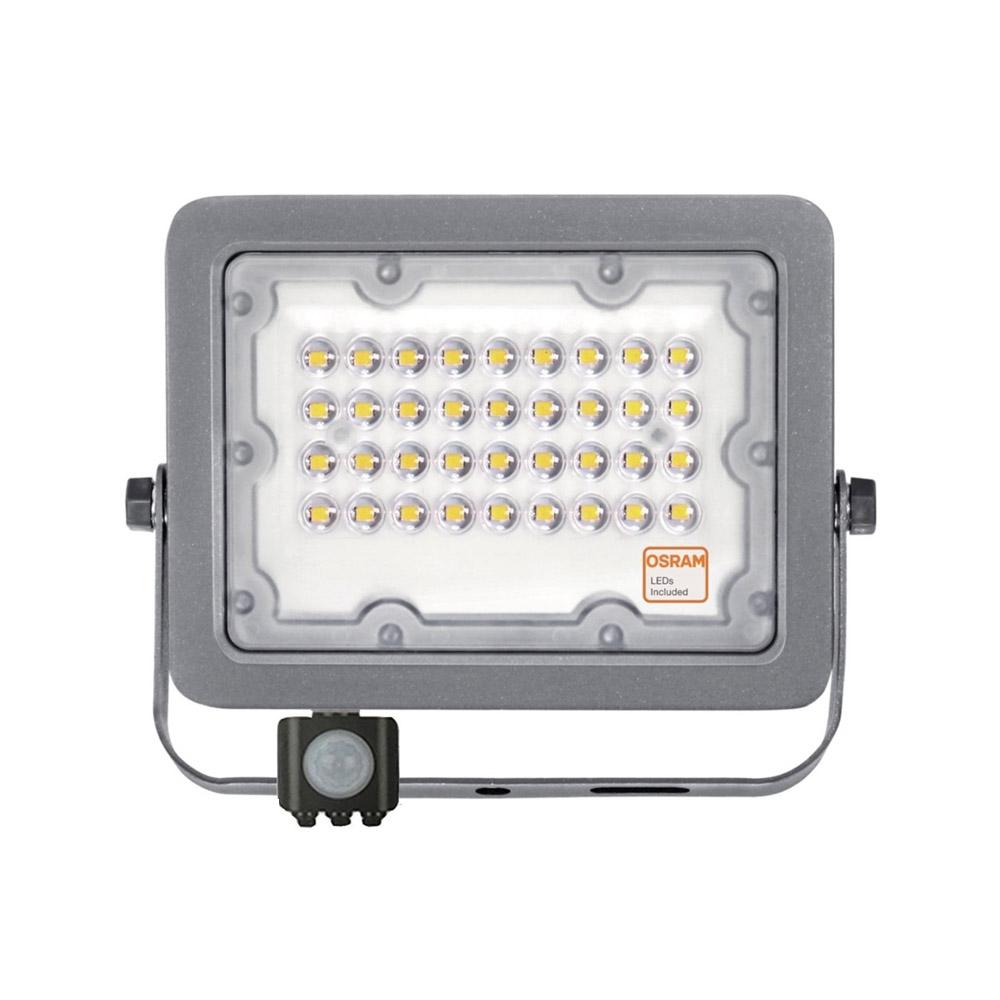 Proyector LED Chipled OSRAM, 30W con Sensor Movimiento y luminosidad PIR