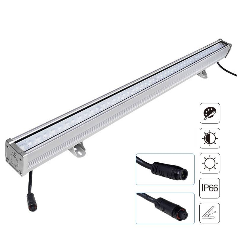 Foco lineal FOKUA LED 24W, RGB+CCT, SYS-T1