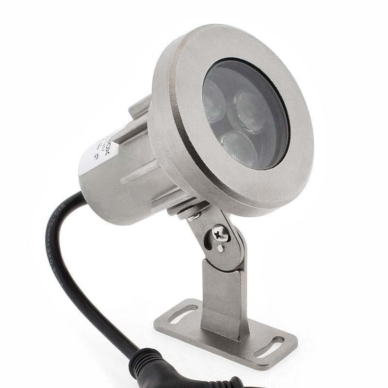 Foco LED Exterior GARLUX, DC12/24V, 24W, RGBW, IP68