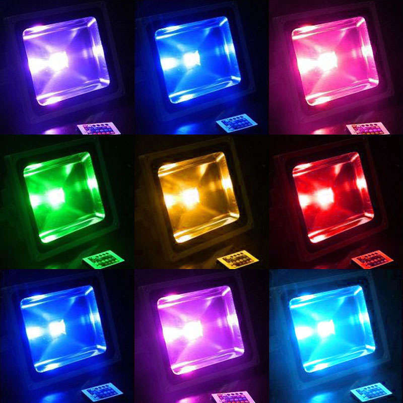 Proyector Led SLIM RGB,  10W