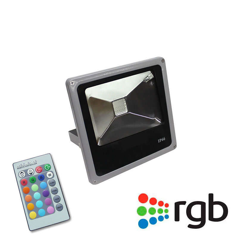Proyector Led SLIM RGB,  10W