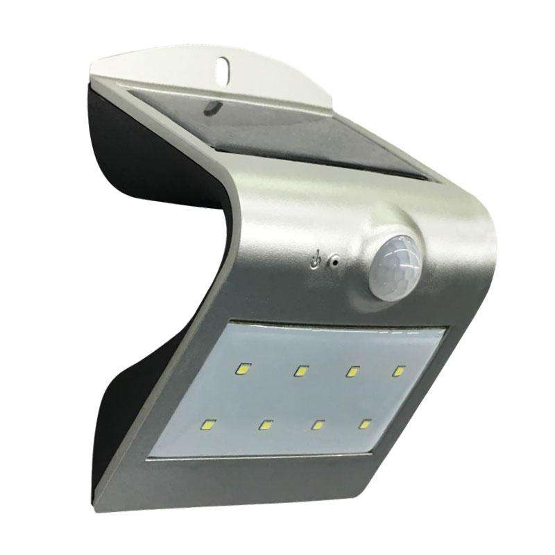 Aplique LED SOLAR PEEL, silver