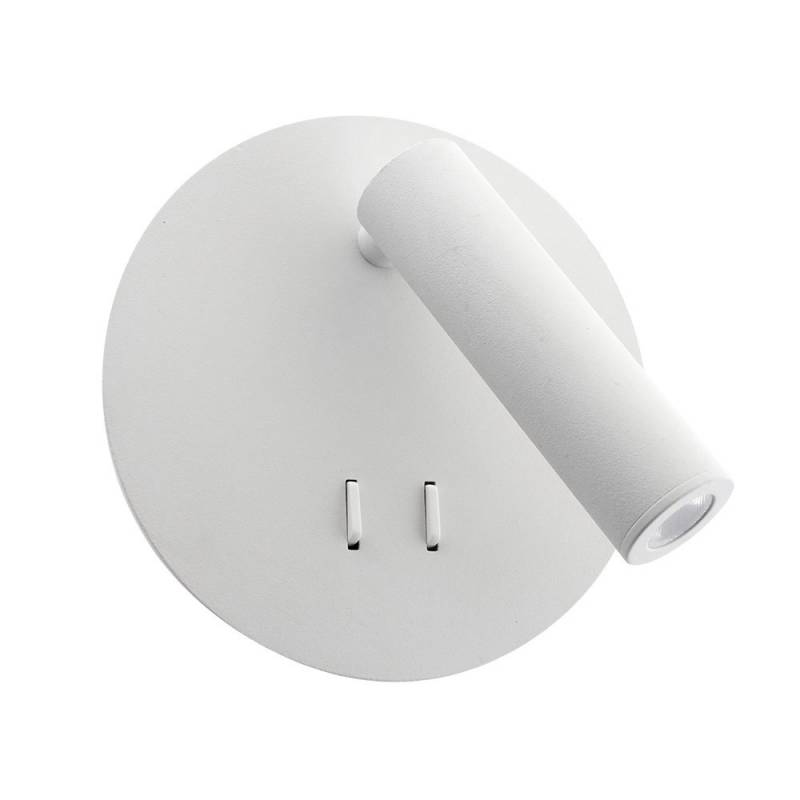Aplique Led ARTNOS Ø140mm, 3+5W, blanco