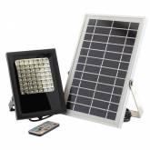 Projetor LED SOLAR 5W, RGB+W