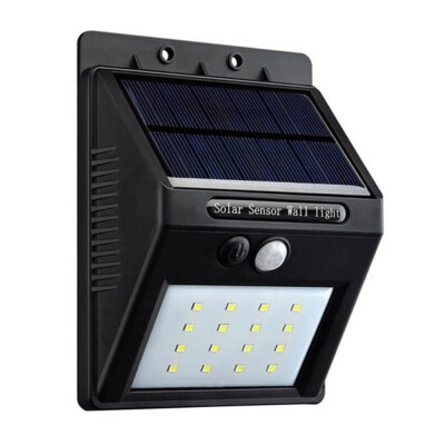 Aplique LED SOLAR PEEL HQ, negro, Blanco frío
