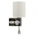 Aplique Led TURIN, E27 + lámpara de lectura 3W