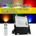 Proyector RGB+CCT Nichia Led, 30W, RF