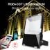 Proyector RGB+CCT Nichia Led, 50W, RF