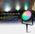 Foco jardim RGB+CCT, 9W, WIFI RF