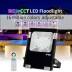 Projetor RGB+CCT Nichia Led, 10W, RF