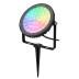 Foco jardín RGB+CCT, 25W, WIFI RF