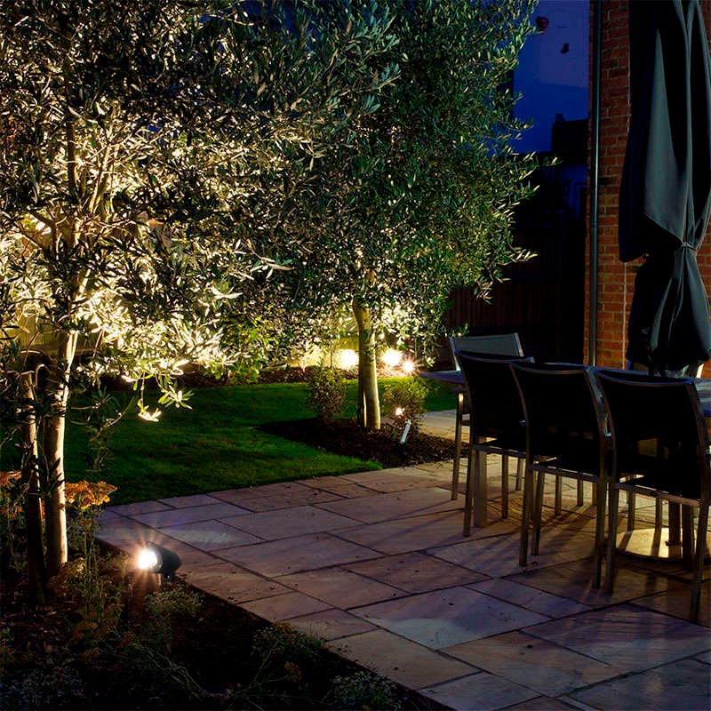 Foco led de jard n garlux 3w ledbox - Focos led jardin ...