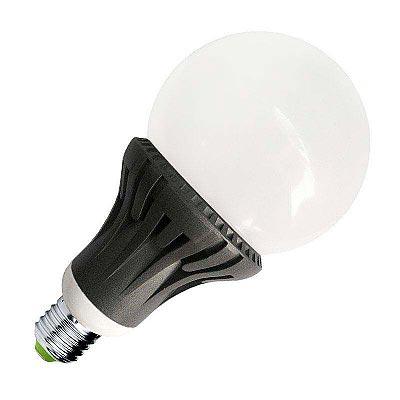 Bombilla LED E27 270º Aluminio 12W, Blanco cálido