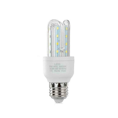 Bombilla Corn E27 SMD2835 LED 5W, Blanco frío