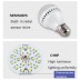 Bombilla LED E27, 12W, chip Samsung, Sensor movimiento y luminosidad