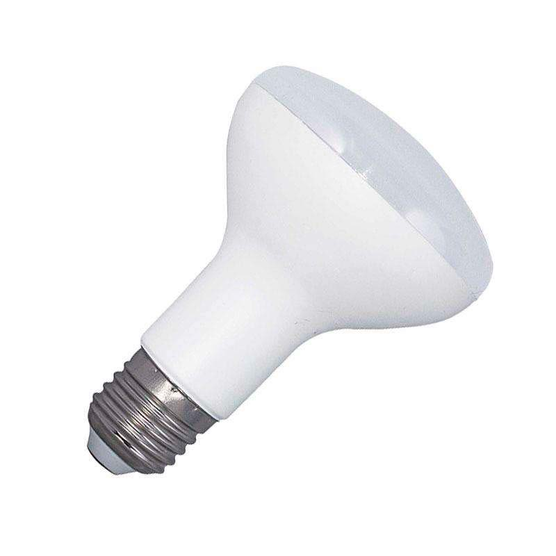 Bombilla LED E27, R80, 12W