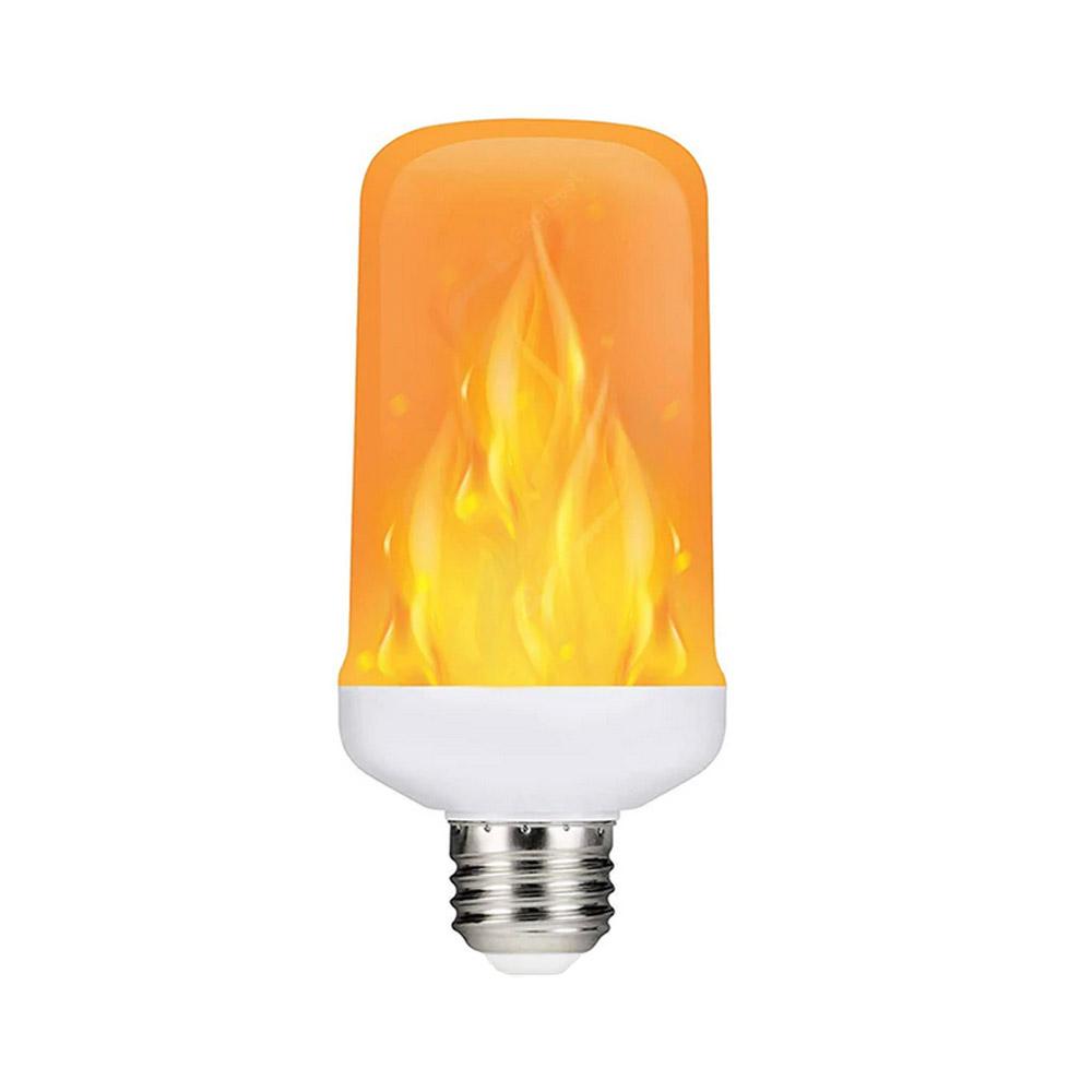 Bombilla LED E27 FIRE, 4 modos