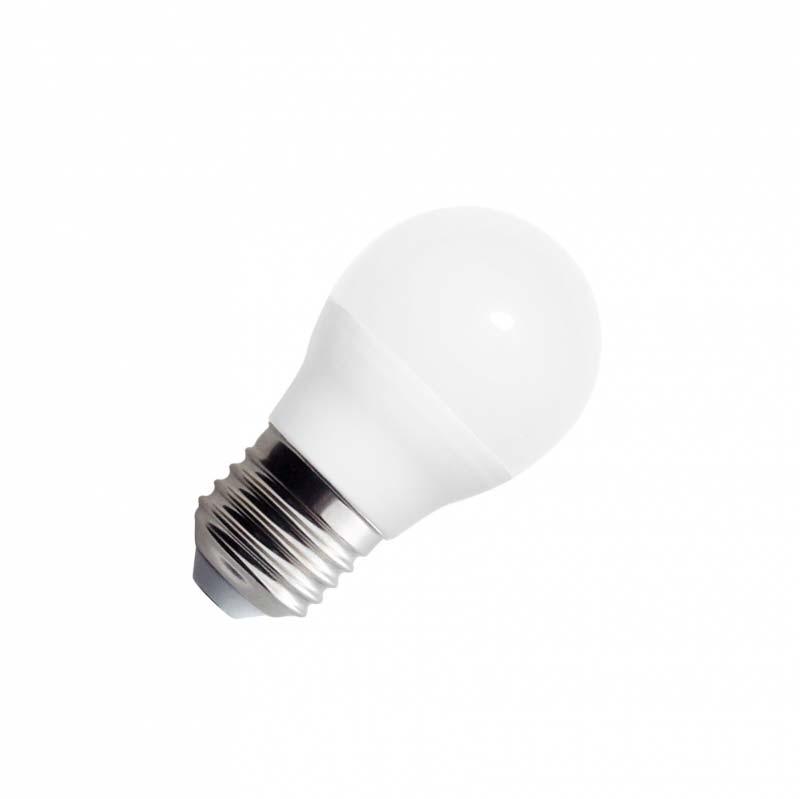 Bombilla LED E27 esférica G45, 220º, 5W