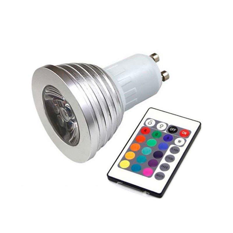 Bombilla LED GU10 3W