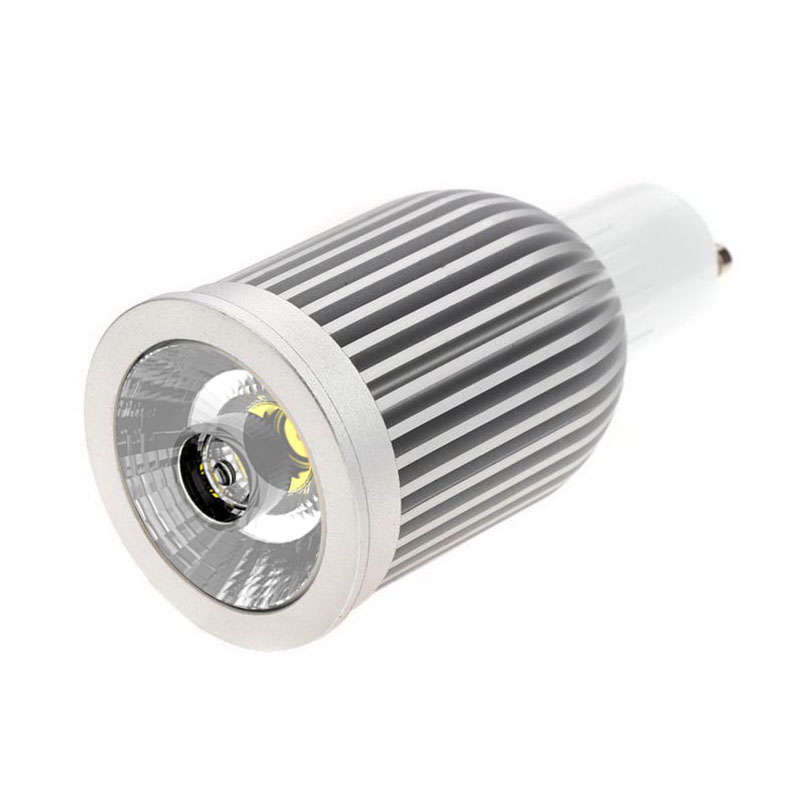 Bombilla LED dicroica GU10 COB, 9W