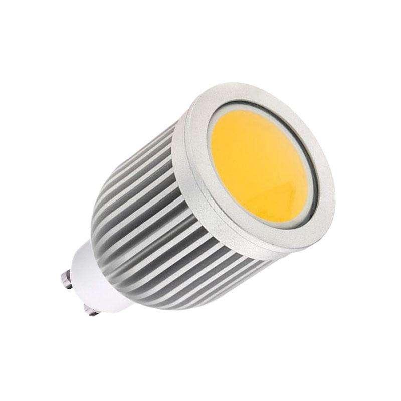 Bombilla LED GU10-COB, 7W, 120º