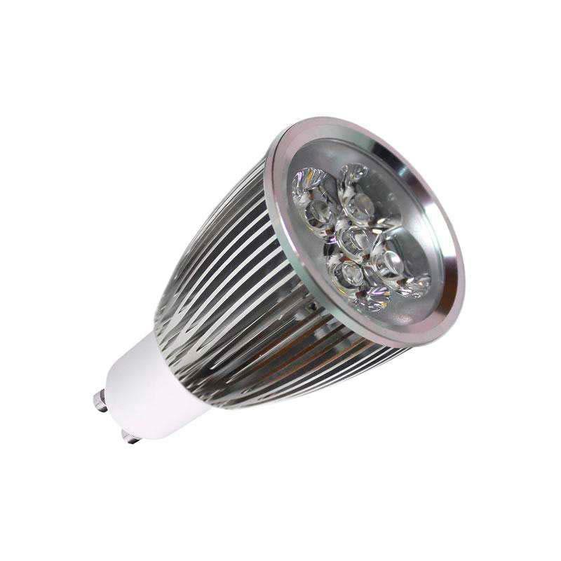 Bombilla LED GU10 6W,  high power, Regulable