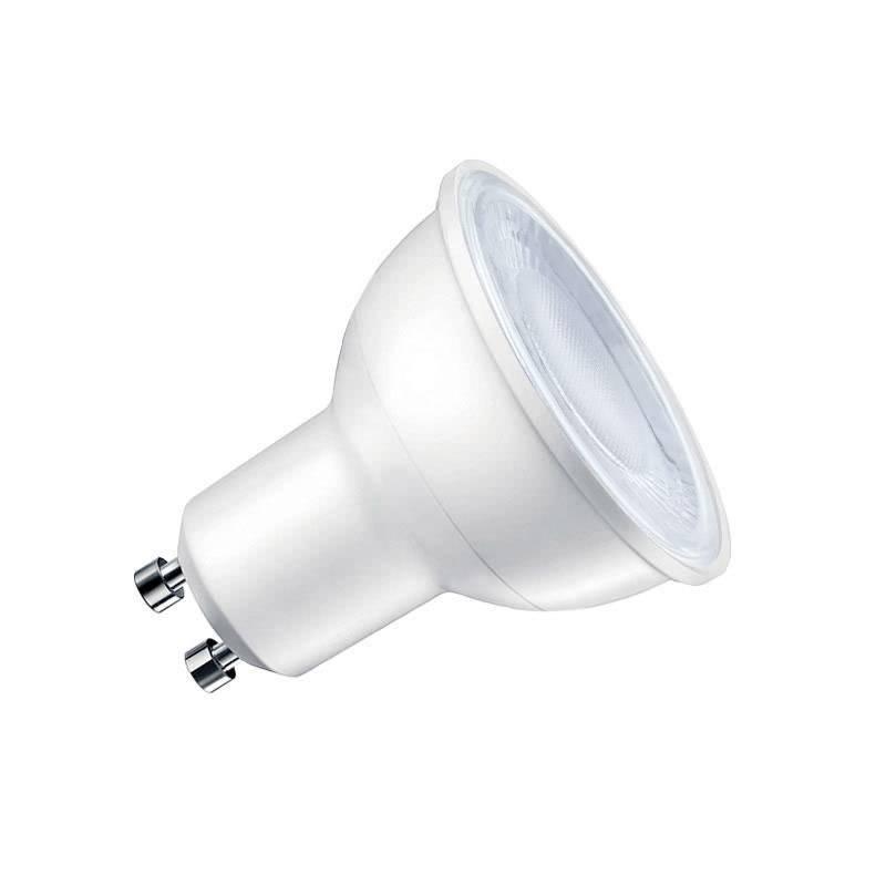 Lâmpada dicroica  LED GU10 COB, 60º, 5W, Regulável