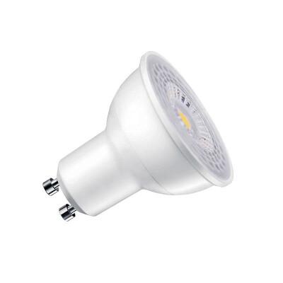 Bombilla dicroica LED GU10 SMD Samsung, 60º, 7W, Regulable, Blanco frío, Regulable