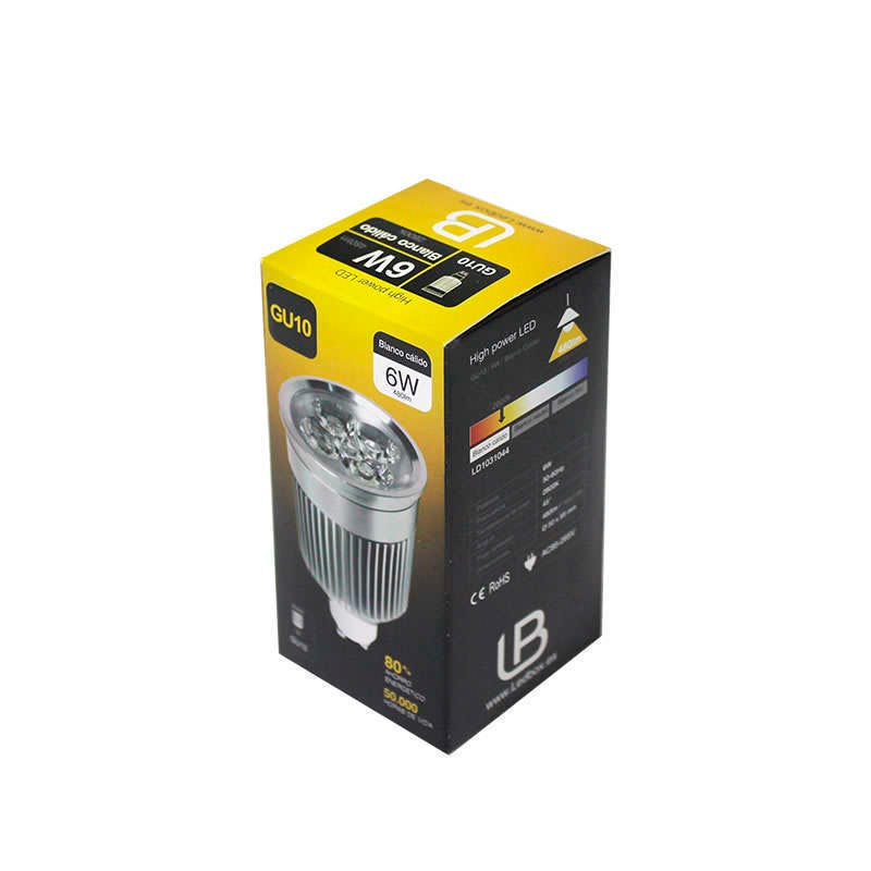 Bombilla LED GU10 6W,  high power PRO