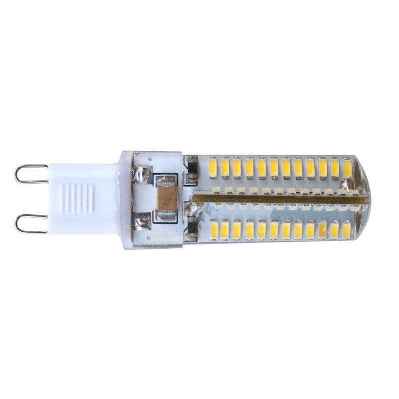 G9 bulb, 72xSMD3014, 4W, 360º, dimmable