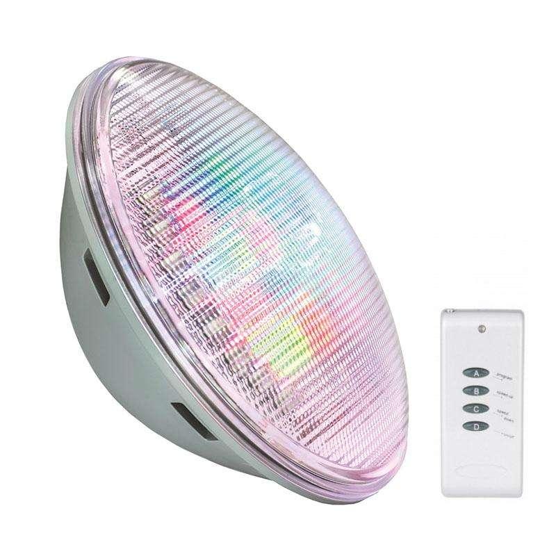 Lámpara LED PAR56 RGB para piscinas, G53, 30W