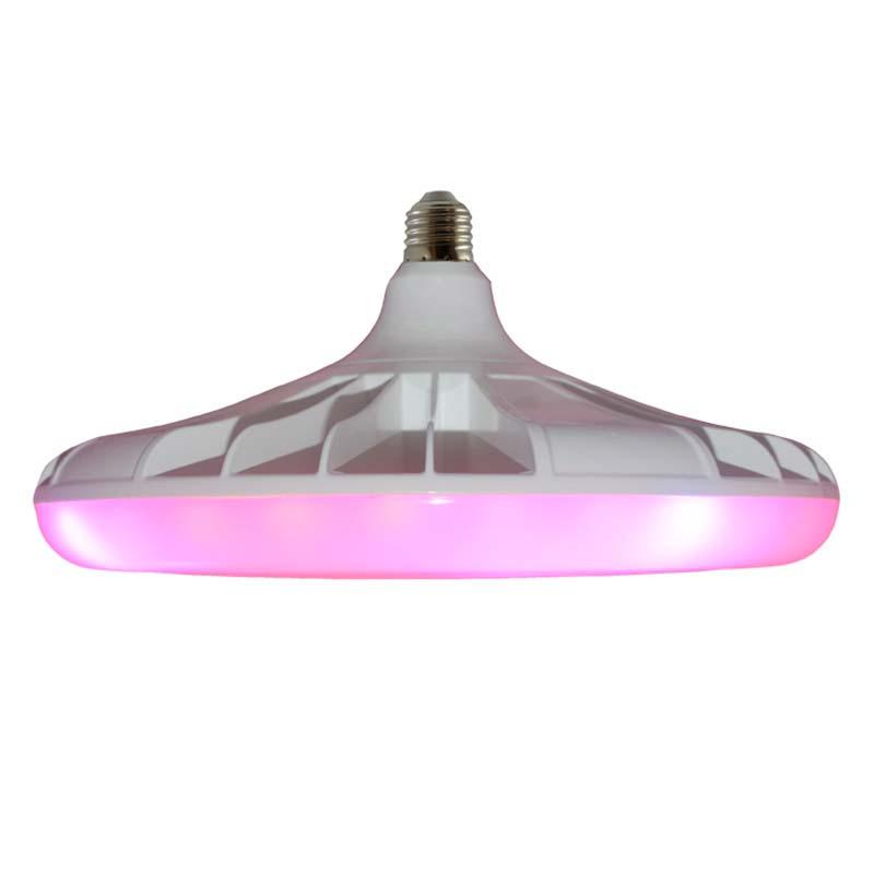 Bombilla LED UFO para crecimiento de plantas, E27, 40W, PLANT GROW 5:1