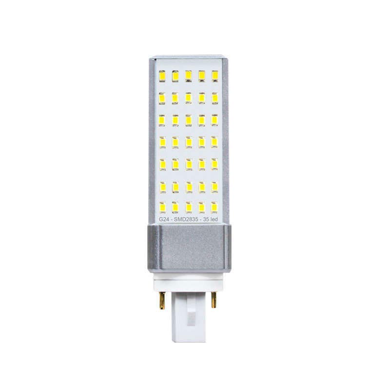 G24 2pin bulb SMD2835, 8W