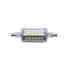 Bombilla LED R7S, 5W, 36xSMD2835, 360º, 78mm. Encapsulado de cristal