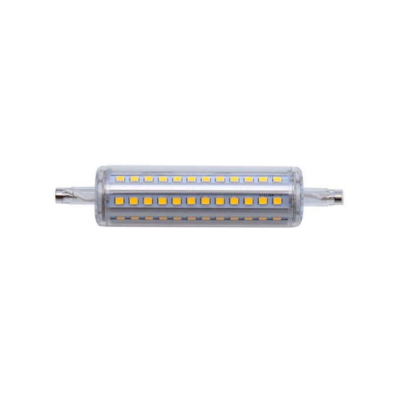 Bombilla led r7s 10w 72xsmd2835 360 118mm ledbox for Bombillas led g9 10w